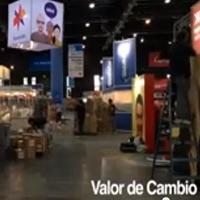 Día previo a la inauguración de la 41ª Feria Internacional del Libro de Buenos Aires (2015).