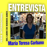 Mª Teresa Carbano (Fundación El Libro) nos habla sobre la 41ª Feria Internacional del Libro de Buenos Aires (2015)