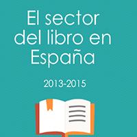 El sector del libro en España, 2013-2015