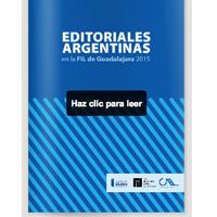 Feria del Libro de Guadalajara 2015 – Catálogo de Editoriales Argentinas