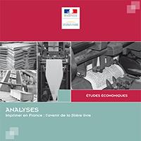 Informe: Imprimer en France : l'avenir de la filière livre | Direction Générale des Entreprises (DGE)