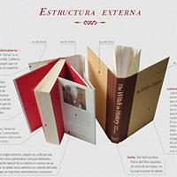 Partes del libro. Revista Algarabía