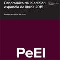 Panorámica de la edición española de libros 2015. Análisis sectorial del libro
