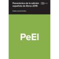 Panorámica de la Edición Española de Libros 2016