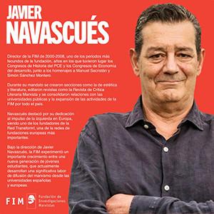 Modesto homenaje a Javier Navascués