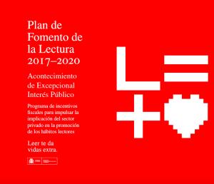 Incentivos fiscales – Plan de Fomento de la Lectura 2017-2020