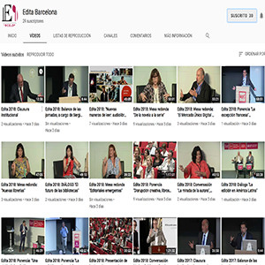 Ya disponibles en video las 16 sesiones del Forum Edita 2018