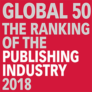 "The ""Global 50″ Ranking of the International Publishing Industry 2018"