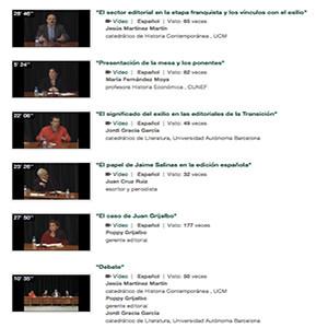 El mundo editorial: un viaje de ida y vuelta (Videos del seminario / UNED 2014)