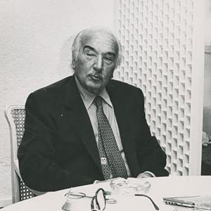 L'escriptor Josep Maria Espinàs entrevistava Joan Grijalbo el 28 d'abril del 1994